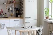 Фото 16 Курс на винтажность: обзор стильных ретро-холодильников для кухонного интерьера