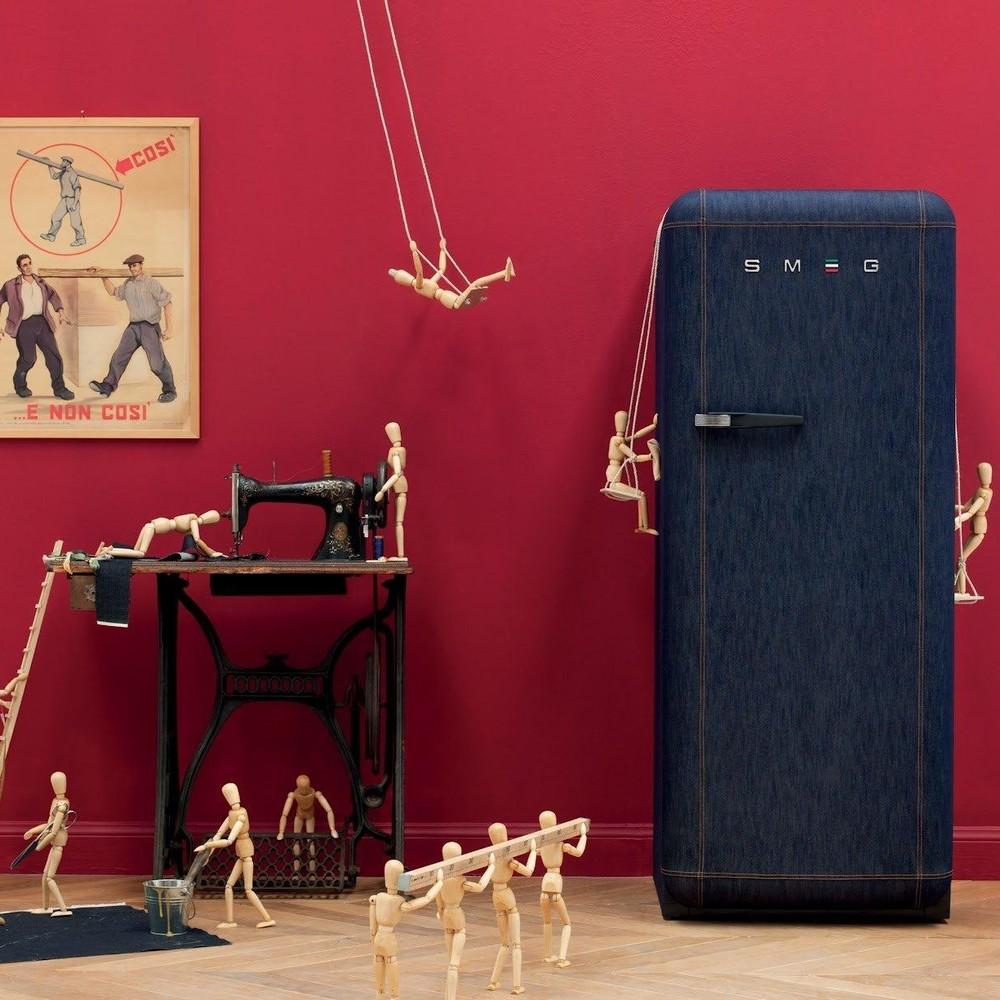 Винтаж в моде 60 фото ретро-холодильников в интерьере