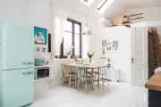 Фото 24 Курс на винтажность: обзор стильных ретро-холодильников для кухонного интерьера