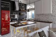 Фото 2 Курс на винтажность: обзор стильных ретро-холодильников для кухонного интерьера
