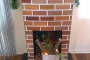 Фото 4 Как сделать камин из коробок своими руками: пошаговая инструкция и 60+ простых идей декора