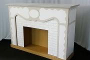 Фото 5 Как сделать камин из коробок своими руками: пошаговая инструкция и 60+ простых идей декора