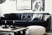 Фото 5 Акцент на стены (80+ идей): обзор стильных и современных картин в стиле лофт для интерьера