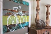 Фото 6 Акцент на стены (80+ идей): обзор стильных и современных картин в стиле лофт для интерьера