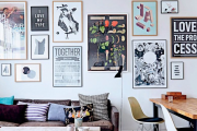Фото 9 Акцент на стены (80+ идей): обзор стильных и современных картин в стиле лофт для интерьера