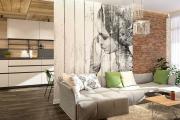 Фото 12 Акцент на стены (80+ идей): обзор стильных и современных картин в стиле лофт для интерьера