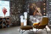 Фото 17 Акцент на стены: обзор стильных и современных картин в стиле лофт для интерьера