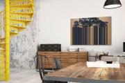 Фото 18 Акцент на стены: обзор стильных и современных картин в стиле лофт для интерьера