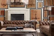 Фото 24 Акцент на стены (80+ идей): обзор стильных и современных картин в стиле лофт для интерьера