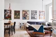 Фото 26 Акцент на стены (80+ идей): обзор стильных и современных картин в стиле лофт для интерьера
