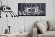 Фото 3 Акцент на стены (80+ идей): обзор стильных и современных картин в стиле лофт для интерьера