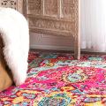Жаккардовый ковер в интерьере: 65+ ярких и элегантных вариантов для гостиной и спальни фото