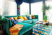 Фото 4 Жаккардовый ковер в интерьере: 65+ ярких и элегантных вариантов для гостиной и спальни