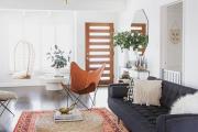 Фото 14 Жаккардовый ковер в интерьере: 65+ ярких и элегантных вариантов для гостиной и спальни