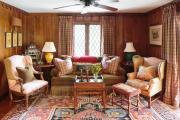Фото 15 Жаккардовый ковер в интерьере: 65+ ярких и элегантных вариантов для гостиной и спальни