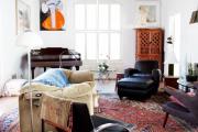 Фото 16 Жаккардовый ковер в интерьере: 65+ ярких и элегантных вариантов для гостиной и спальни