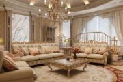 Фото 19 Жаккардовый ковер в интерьере: 65+ ярких и элегантных вариантов для гостиной и спальни