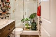 Фото 29 Жаккардовый ковер в интерьере: 65+ ярких и элегантных вариантов для гостиной и спальни