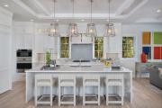 Фото 8 Дизайн кухни с бежевым фартуком: обзор стильных вариантов отделки и правильных сочетаний