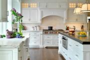 Фото 9 Дизайн кухни с бежевым фартуком: обзор стильных вариантов отделки и правильных сочетаний