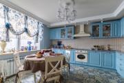 Фото 11 Дизайн кухни с бежевым фартуком: обзор стильных вариантов отделки и правильных сочетаний