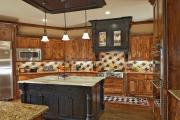 Фото 12 Дизайн кухни с бежевым фартуком: обзор стильных вариантов отделки и правильных сочетаний