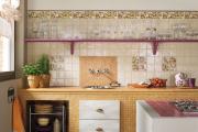 Фото 17 Дизайн кухни с бежевым фартуком: обзор стильных вариантов отделки и правильных сочетаний