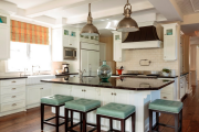 Фото 23 Дизайн кухни с бежевым фартуком: обзор стильных вариантов отделки и правильных сочетаний