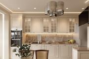 Фото 24 Дизайн кухни с бежевым фартуком: обзор стильных вариантов отделки и правильных сочетаний