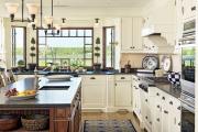 Фото 28 Дизайн кухни с бежевым фартуком: обзор стильных вариантов отделки и правильных сочетаний