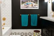 Фото 13 Оформление стен в комнате: лучшие фотоидеи и тренды 2019 года, цветовые гаммы, материалы и орнаменты