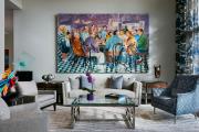 Фото 9 Оформление стен в комнате: лучшие фотоидеи и тренды 2019 года, цветовые гаммы, материалы и орнаменты