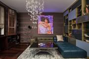 Фото 10 Оформление стен в комнате: лучшие фотоидеи и тренды 2019 года, цветовые гаммы, материалы и орнаменты