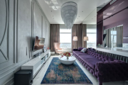 Фото 15 Оформление стен в комнате: лучшие фотоидеи и тренды 2019 года, цветовые гаммы, материалы и орнаменты