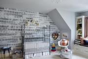 Фото 19 Оформление стен в комнате: лучшие фотоидеи и тренды 2019 года, цветовые гаммы, материалы и орнаменты