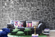 Фото 20 Оформление стен в комнате: лучшие фотоидеи и тренды 2019 года, цветовые гаммы, материалы и орнаменты