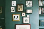 Фото 12 Оформление стен в комнате: лучшие фотоидеи и тренды 2019 года, цветовые гаммы, материалы и орнаменты
