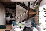 Фото 27 Оформление стен в комнате: лучшие фотоидеи и тренды 2019 года, цветовые гаммы, материалы и орнаменты