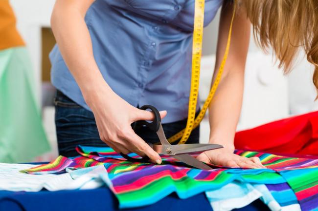 Покупать ткань необходимо с запасом