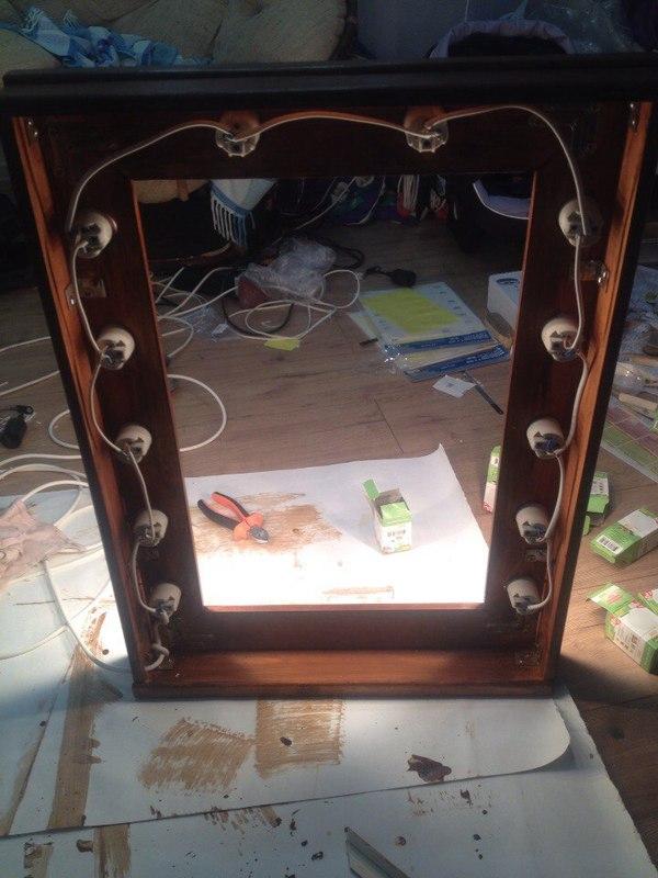 60 идей освещения зеркала Дизайн Варианты своими руками