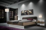 Фото 21 Спальни «Лазурит»: обзор актуальных коллекций спальных гарнитуров