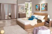 Фото 26 Спальни «Лазурит»: обзор актуальных коллекций спальных гарнитуров