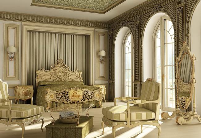 Изысканная мебель с элементами ручной работы
