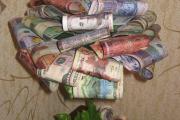 Фото 3 Топиарий из денег: пошаговые мастер-классы по созданию денежного чуда своими руками
