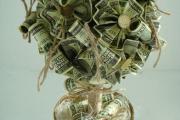 Фото 4 Топиарий из денег: пошаговые мастер-классы по созданию денежного чуда своими руками