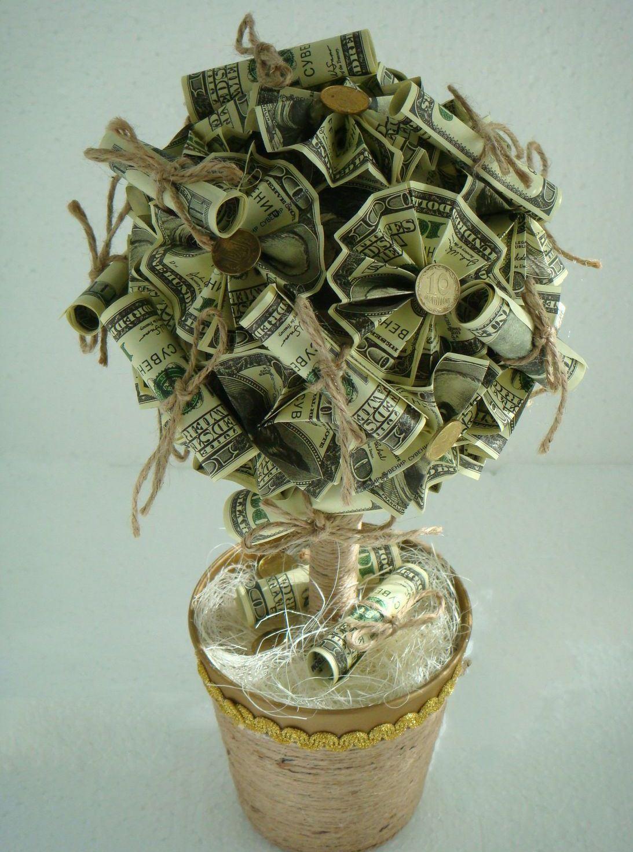 Что сделать своими руками денежное дерево 38