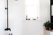 Фото 11 Северный минимализм: 60+ стильных интерьеров ванной и туалета в скандинавском стиле