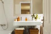 Фото 15 Северный минимализм: 60+ стильных интерьеров ванной и туалета в скандинавском стиле