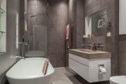 Фото 17 Северный минимализм: 60+ стильных интерьеров ванной и туалета в скандинавском стиле