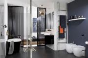 Фото 18 Северный минимализм: 60+ стильных интерьеров ванной и туалета в скандинавском стиле